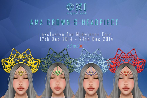 ::OXI:: Ama Crown & Headpiece