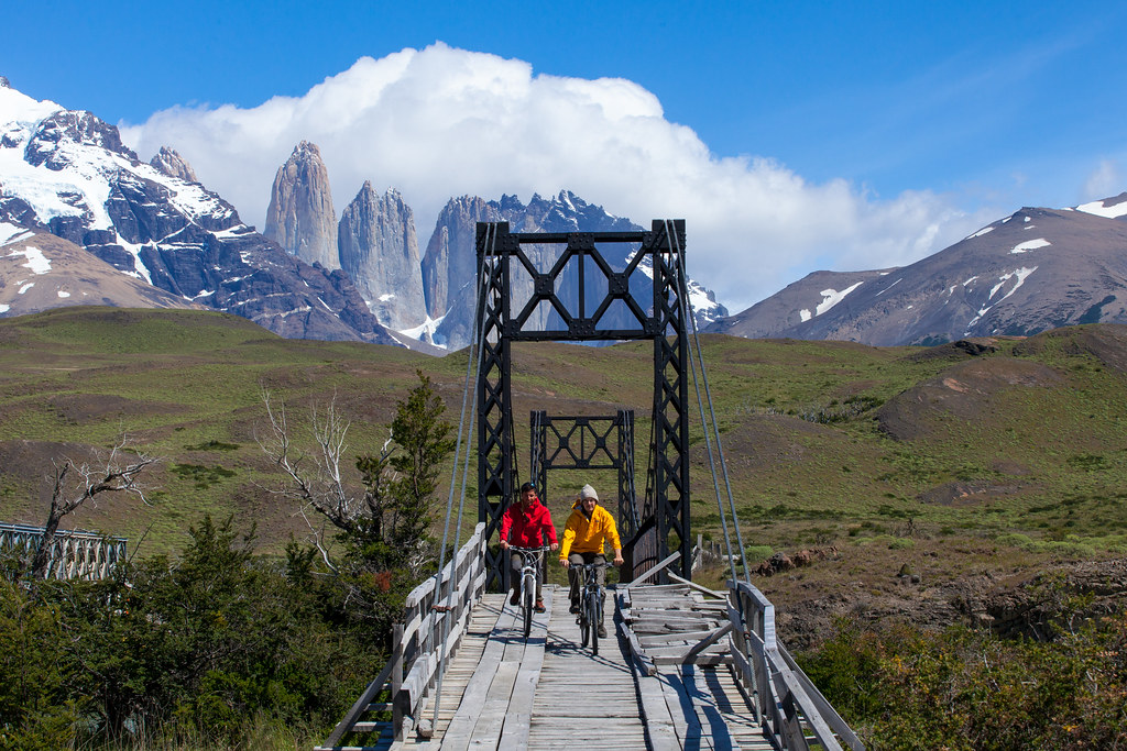 Patagonia Biking in Torres del Paine NP - Chile