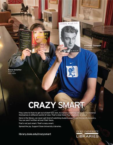 Crazy Smart Bookfacing