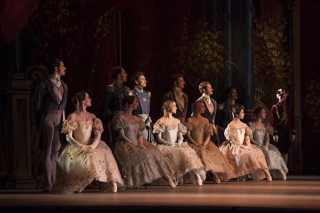 Artists of The Royal Ballet in Onegin, The Royal Ballet © ROH/Bill Cooper, 2013