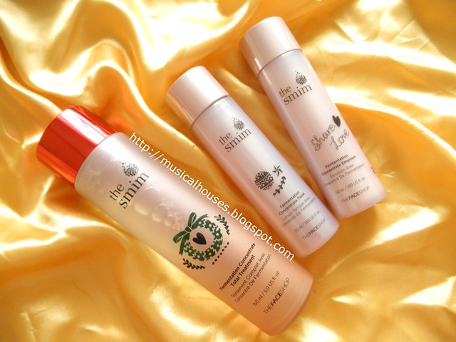 The Face Shop SMIM Fermentation Concentrate Treatment Toner Emulsion Special Set Bottles