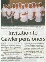 SA Pensioners Association Gawler Branch Bunyip 2014