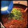 #CucinaDelloZio - #Homemade #TexasStyle #Chili - fresh lime juice and cilantro