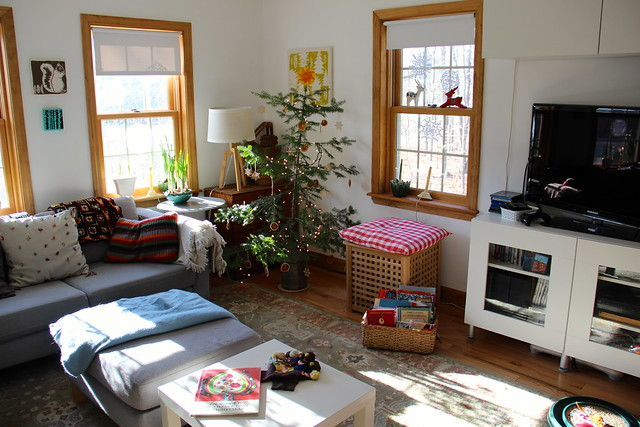 our family room at Yule
