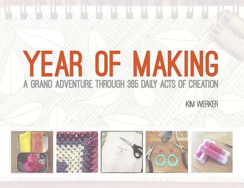 Kim Werker's Year of Making ebook cover