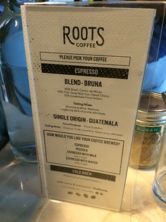 Roots Coffee @ BKK menu 2