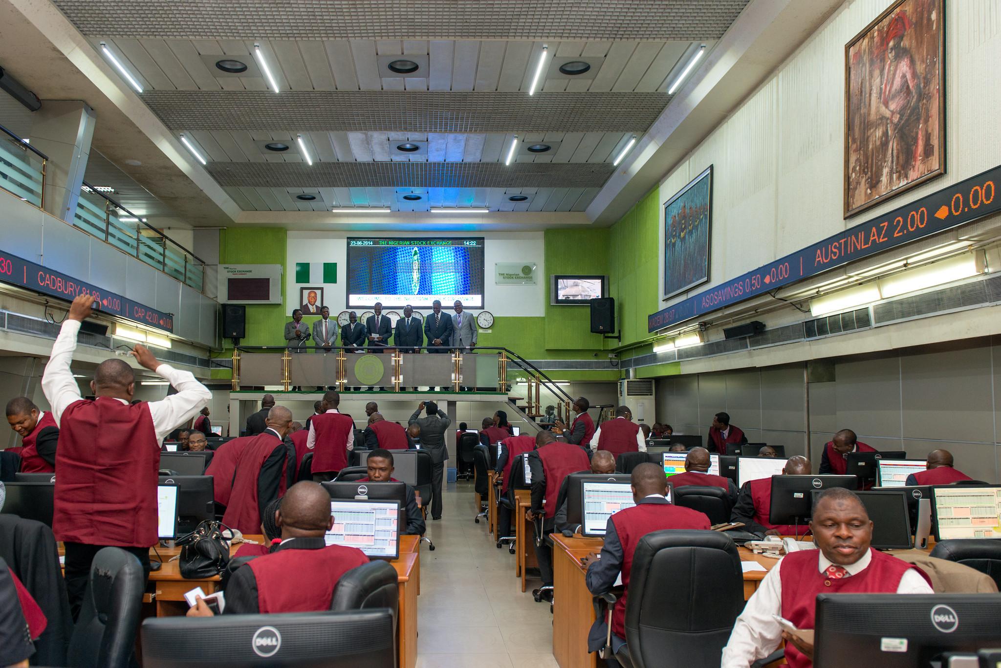 Nigerian Stock Exchange Floor
