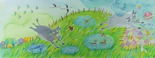 《妞牛的溼地任務》內頁(圖片來源:天下雜誌)