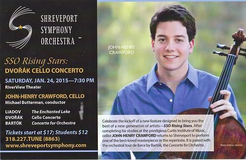 John-Henry Crawford, Shreveport Symphony Orchestra