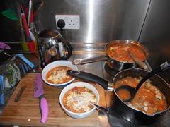 Plating Fish Stew