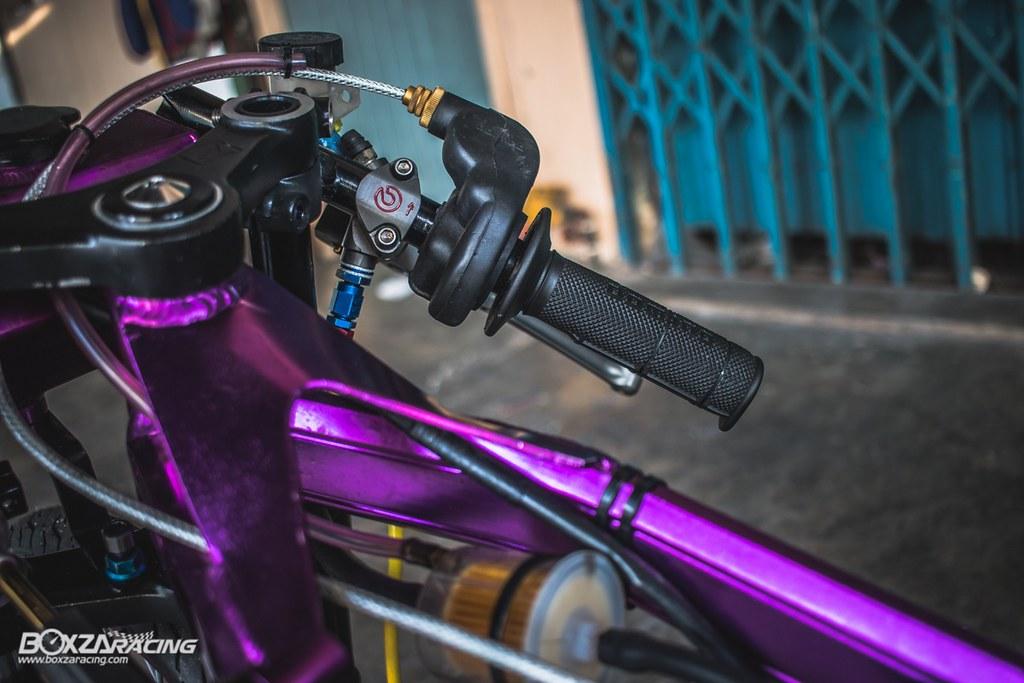 Wave Drag độ màu tím khủng khiếp với Piston 78mm (Thái) - 8