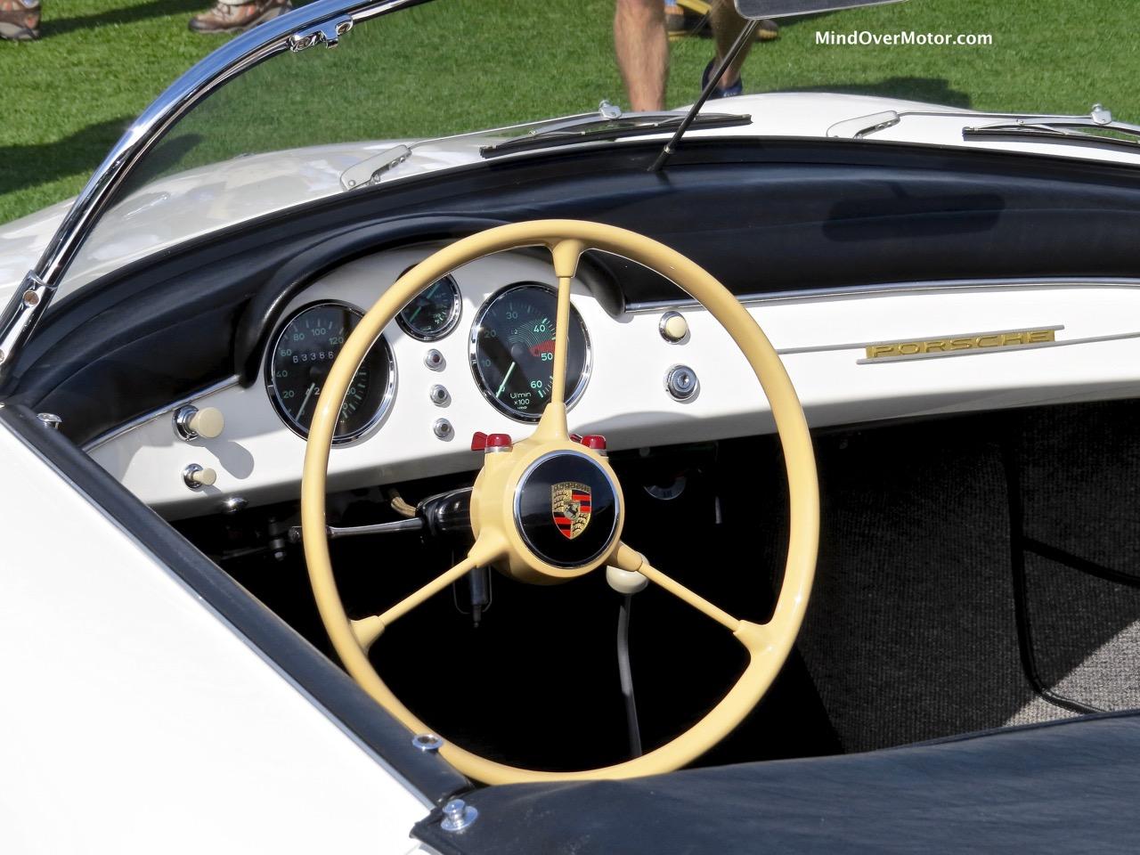 1955 Porsche 356 Speedster Interior