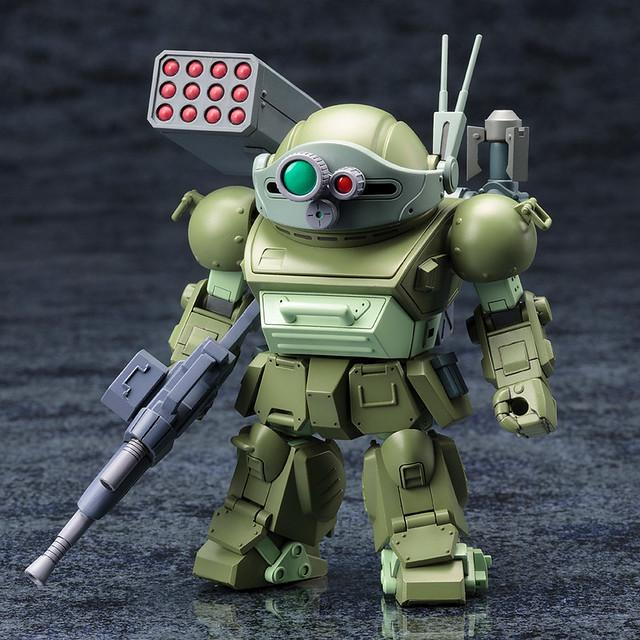 D-Style《裝甲騎兵》眼鏡鬥犬 伯克霍夫分隊版本