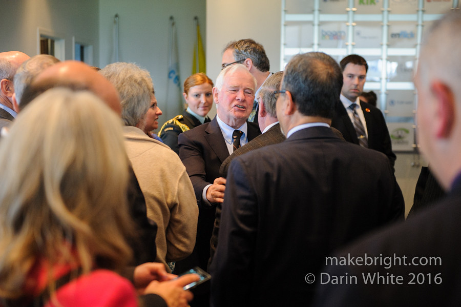 Governor General David Johnston at the AC - May 2016 397
