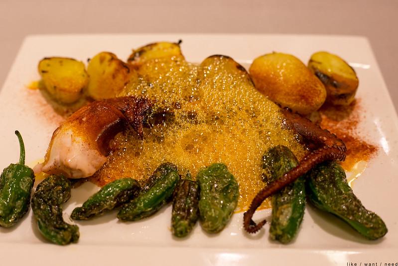 Grilled Octopus, Restaurante Anttonenea