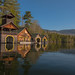 Lakeside Boat Houses