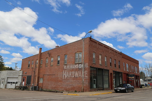 Scandinavia Wisconsin, Ghost Sign, Waupaca County WI