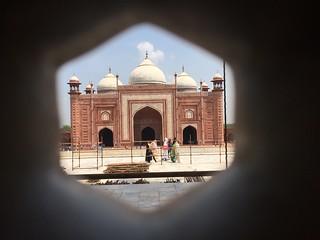صورة Taj Mahal قرب Āgra. tajmahal taj agra