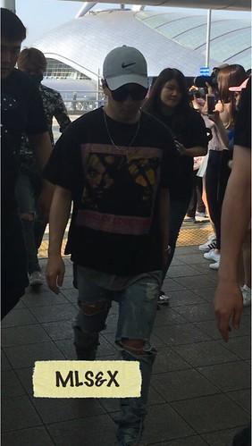 MyLadies盛开微光 Airport Photos BIGBANG June 2016 (29)