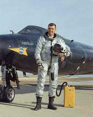Joe Engle with X-15A-2