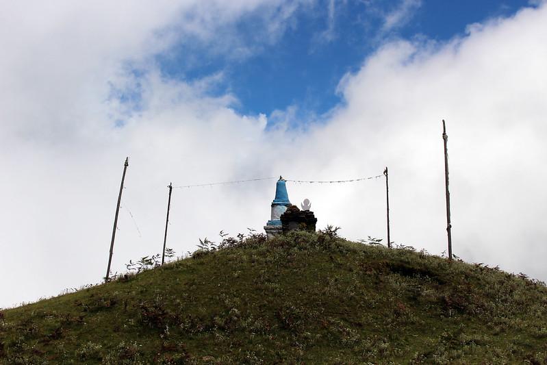 Sky stupa