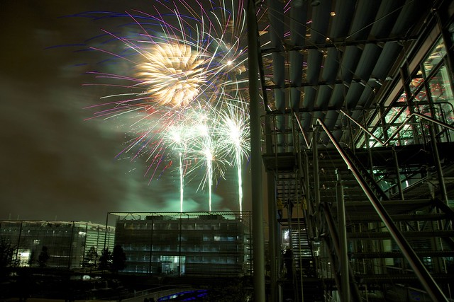 Chiswick Business Park Fireworks 2014a