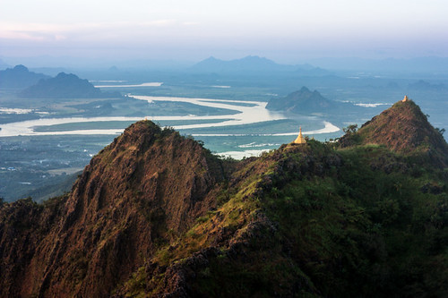 mountains landscape pagoda burma myanmar travelphotography myanmartravel hpaan starrscapes mariestarrphotography