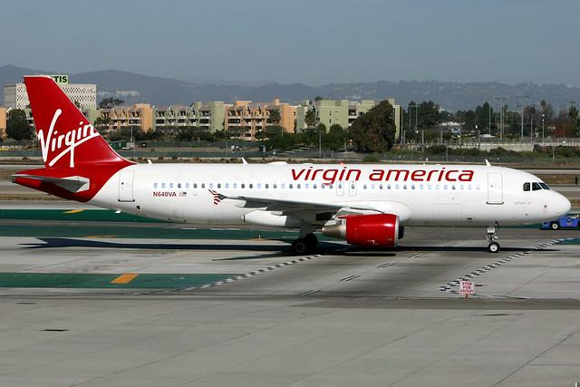 Virgin America | Airbus A320-200 | N640VA | Los Angeles International