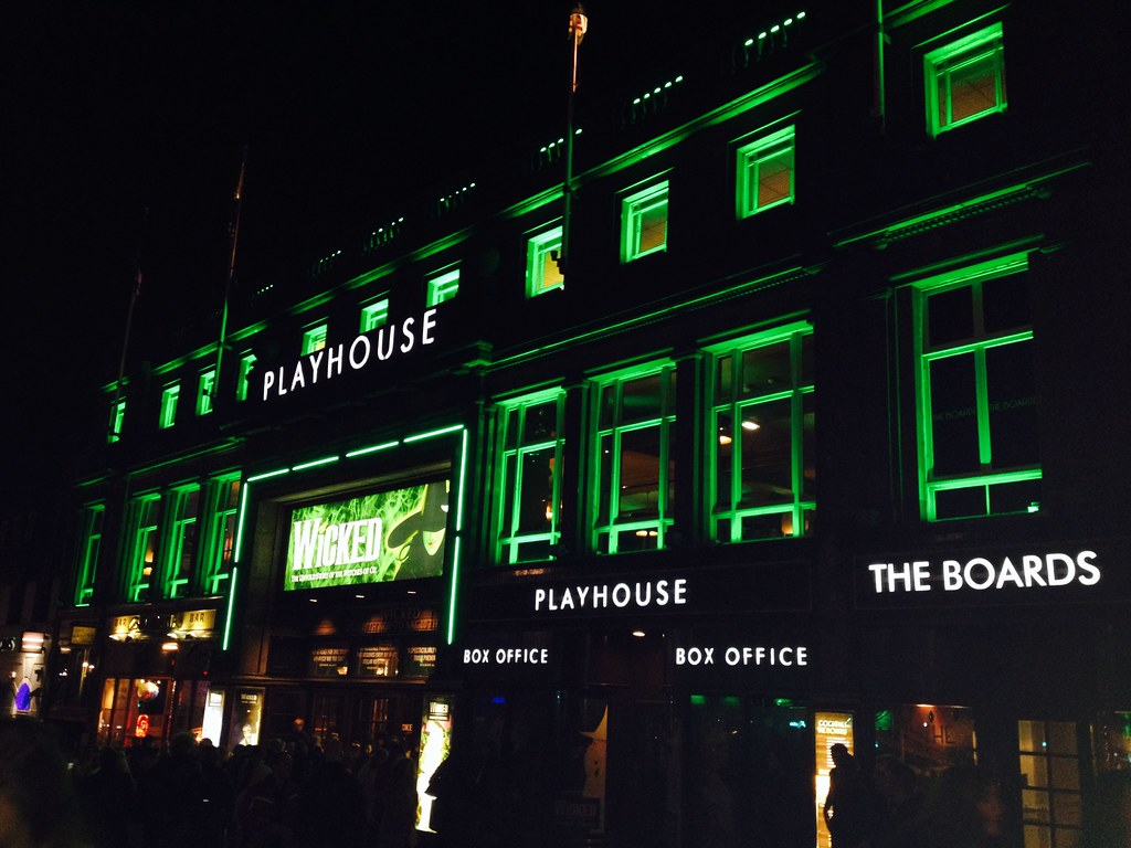 Wicked at Edinburgh Playhouse 4