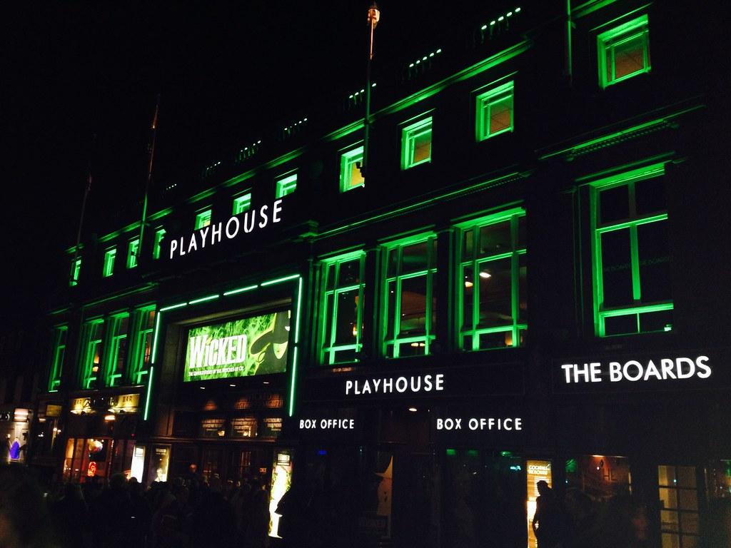 Wicked at Edinburgh Playhouse 4