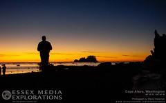 Sunset over Cape Alava