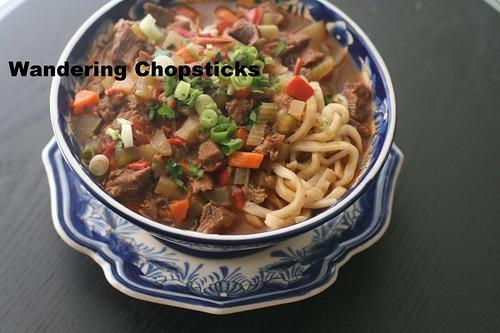 Uzbek Lagman (Lamb Noodle Soup) 16
