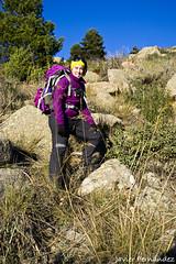 María en el tramo de descenso
