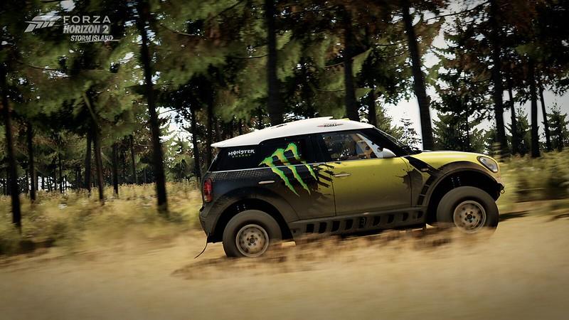 2013 MINI ALL4 Racing X-Raid Monster Energy