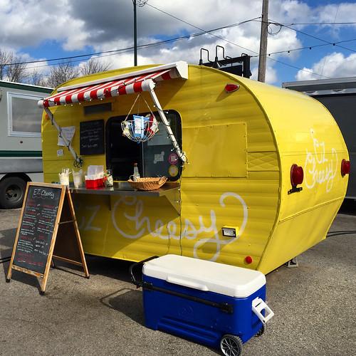 The Little Fleet food truck corner in Traverse City