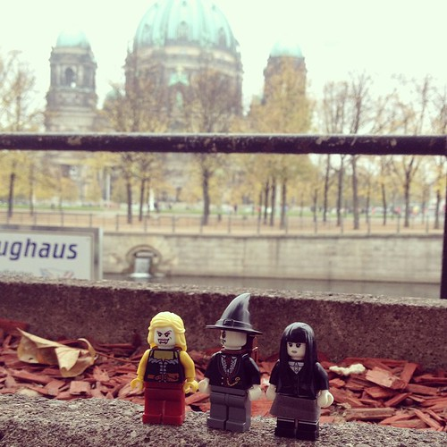 Halloween family outing in Berlin!