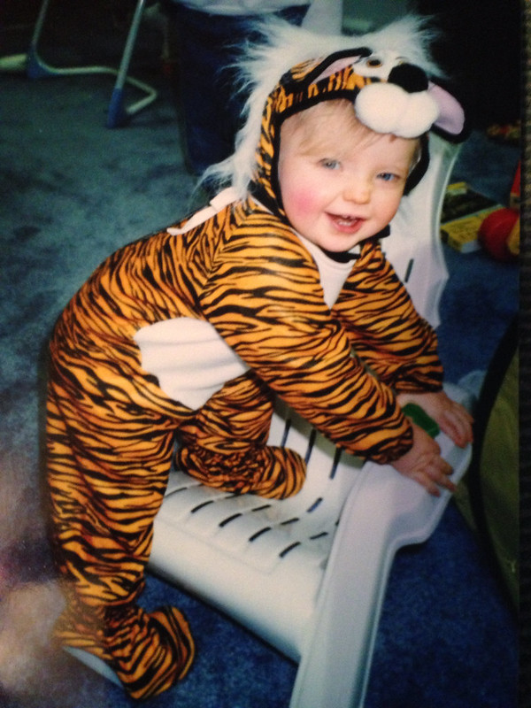 Tiger baby