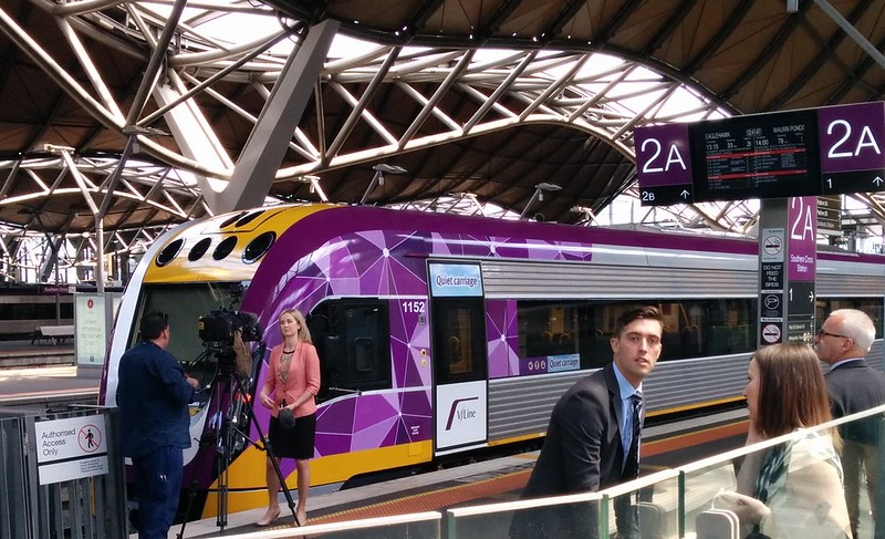 Launch of new V/Line train set