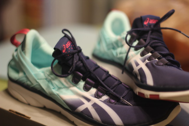 A training shoe: Asics GEL-Fit Sana