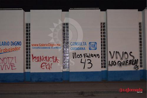 PAN asegura que no habrá acciones contra vandalismo