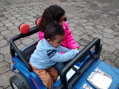Chiquillos en Huachi