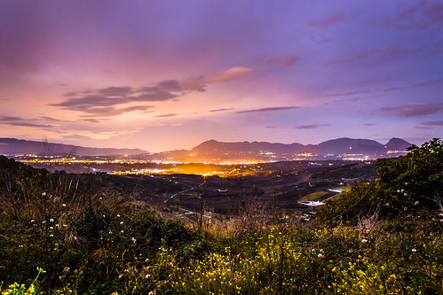 italy panorama canon landscape long exposure campania 1855 paesaggio benevento notturno dormiente 600d sannio paduli