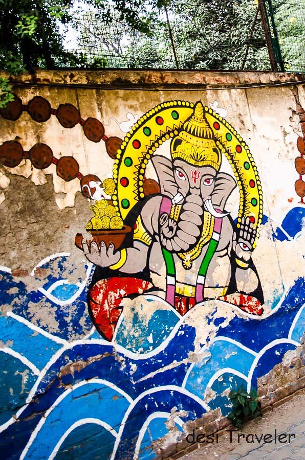 Ganesha Street Art Agrasen Ki Baoli Delhi