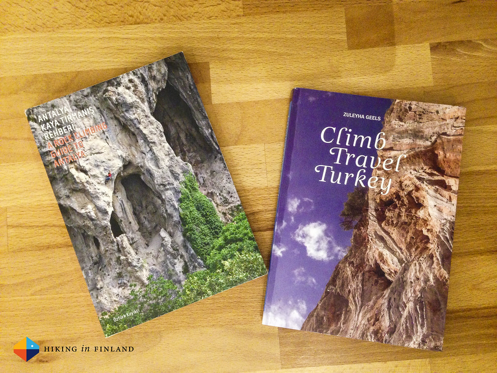A Rock Climbing Guide to Antalya & Climb Travel Turkey books