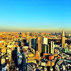 Always love the view from the Park Hyatt #tokyo