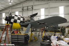 N447FW 550476 - 990002 - Flug Werk FW-190A-8 N - Tillamook Air Museum - Tillamook, Oregon - 131025 - Steven Gray - IMG_8082