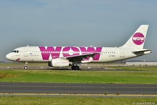 Airbus A320-200 WOW Air (WOW) LZ-MDC - MSN 4270