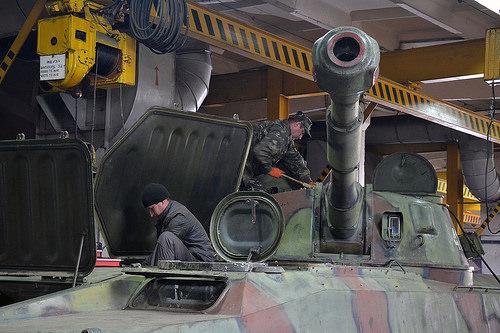 Півмільйона гривень на ремонт артилерії