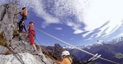 Švýcarsko na mezinárodním festivalu Alpinismu v Praze.