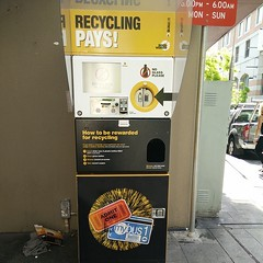 Wtf a recycling booth  WTB one in Cabramatta and Canley Heights...